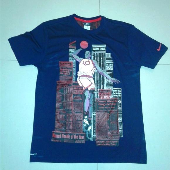 Rare Nike Dri Fit Kevin Durant KD T Shirt Size XL